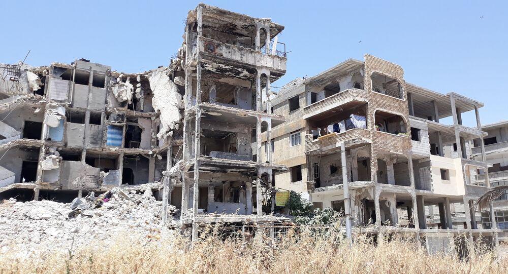 إزالة الأبنية الآيلة للسقوط في حمص