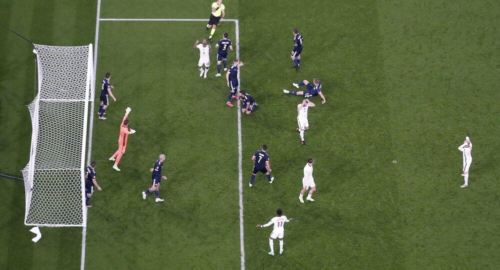 مباراة إنجلترا واسكتلندا في بطولة أمم أوروبا يورو 2020