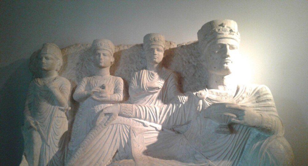 آثار سورية في متحف دمشق
