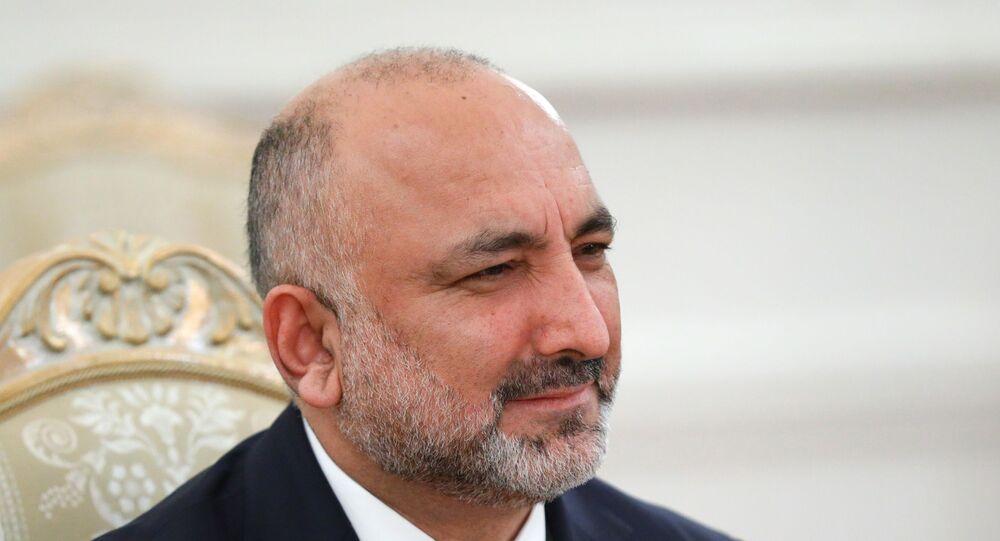 وزير الخارجية الأفغاني حنيف أتمار