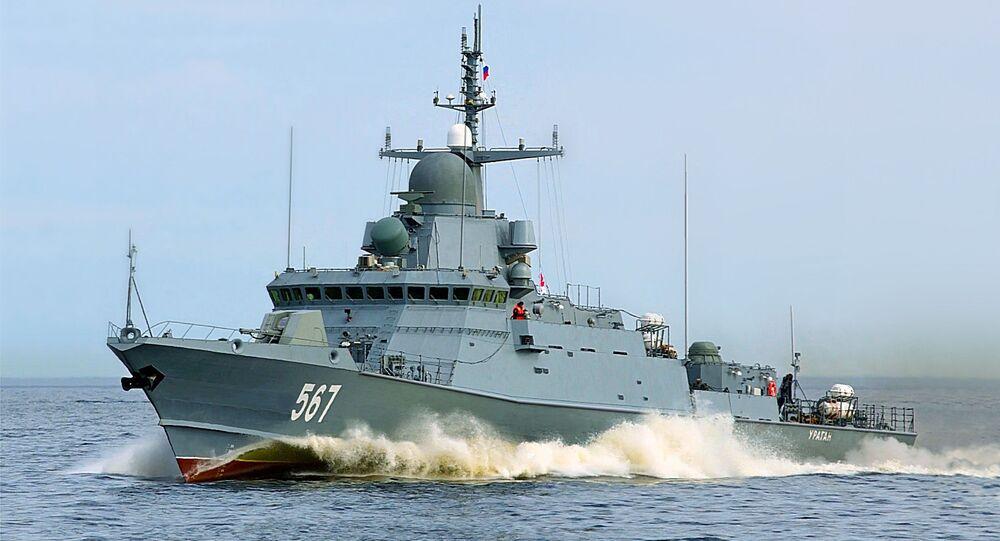 السفينة الحربية كاراكورت الروسية