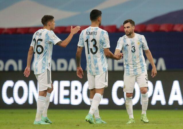 فوز الأرجنتين على باراغواي بكوبا أمريكا