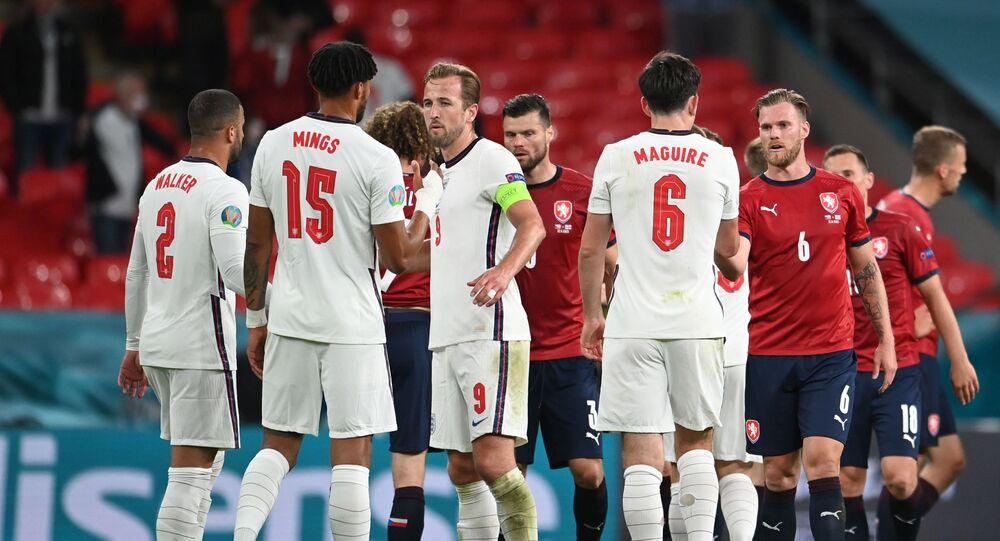 منتخب إنجلترا والتشيك يورو 2020
