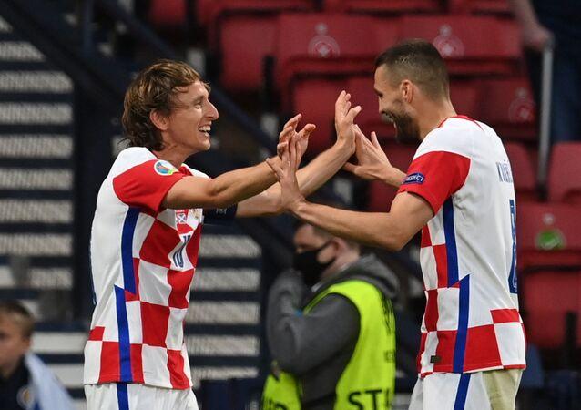 مباراة كرواتيا وأسكتلندا