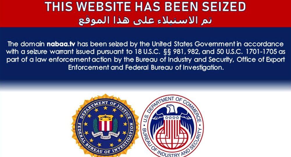 أمريكا تستولي على مواقع إلكترونية إيرانية