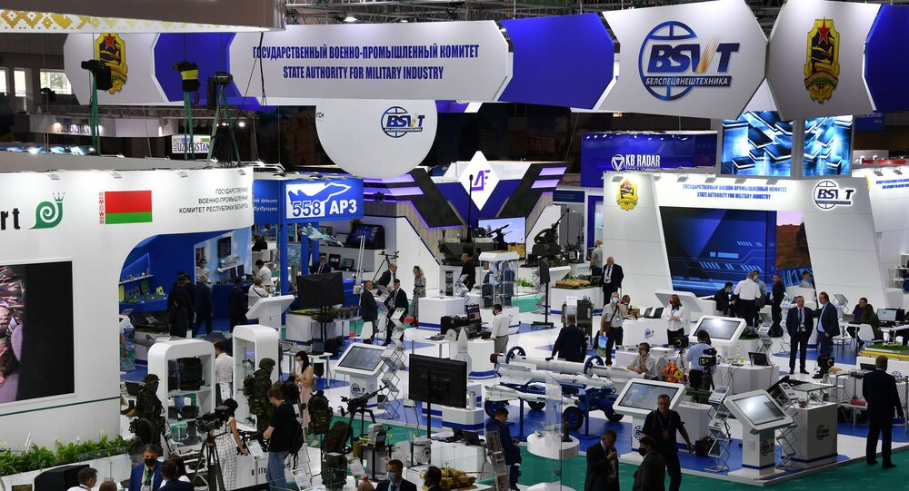 المعرض الدولي للأسلحة والمعدات العسكرية  ميليكس 2021 في مينسك
