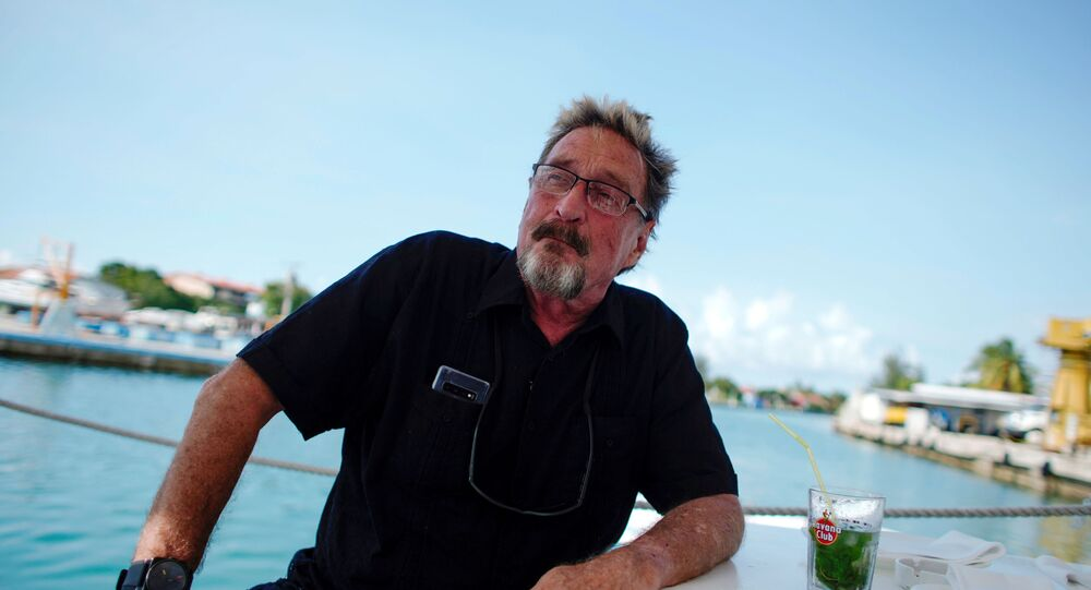 مؤسس برامج مكافحة الفيروسات الإلكترونية، الأمريكي جون ماكافي