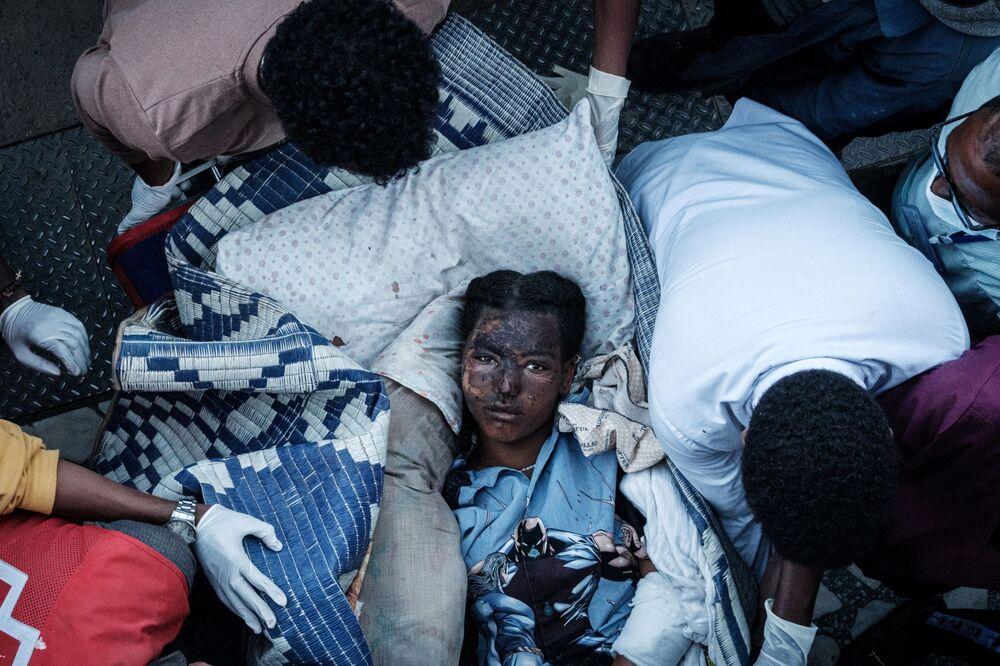 جرحى توغوغا، تيغراي الشمالية، إثيوبيا
