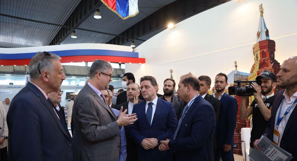 معرض بيلدكس الدولي في سوريا - دمشق