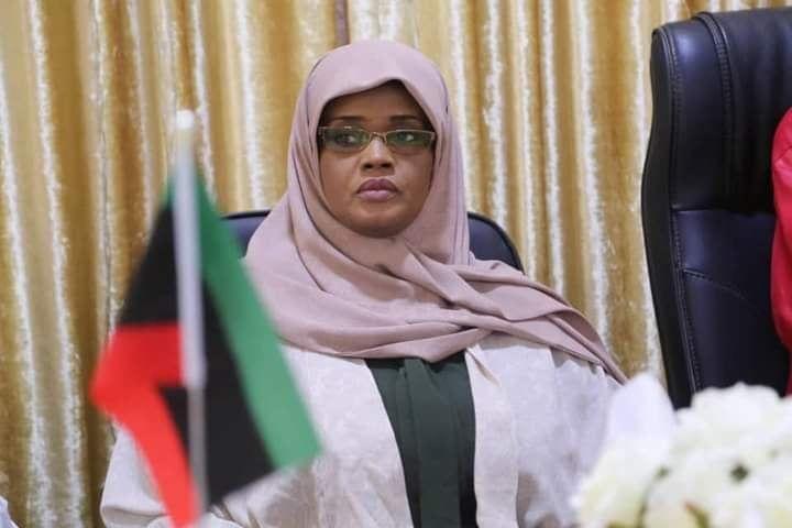 وزيرة الثقافة الليبية