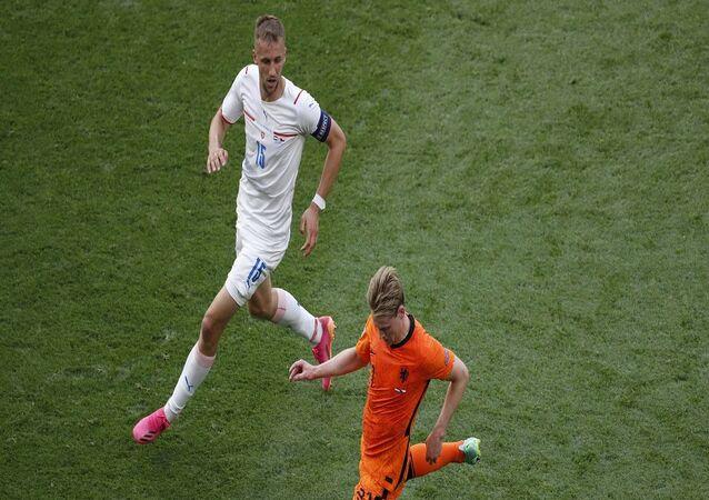 مباراة هولندا والتشيك في بطولة أمم أوروبا 2020