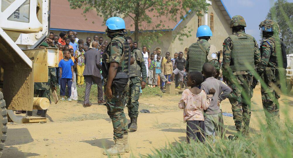جنود حفظ السلام في الكونغو الديمقراطية