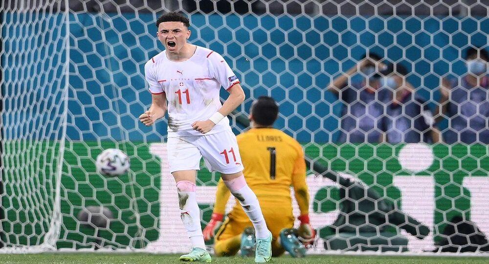 منتخب سويسرا أمام فرنسا في يورو 2020