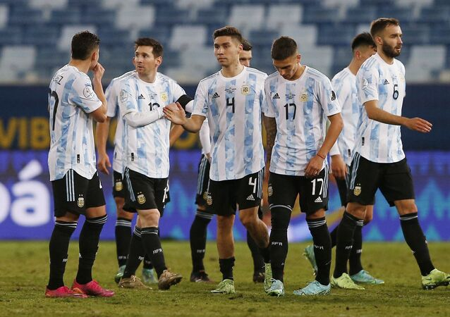 ميسي في مباراة الأرجنتين وبوليفيا
