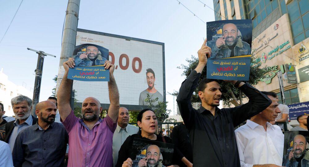 مقتل الناشط السياسي نزار بنات