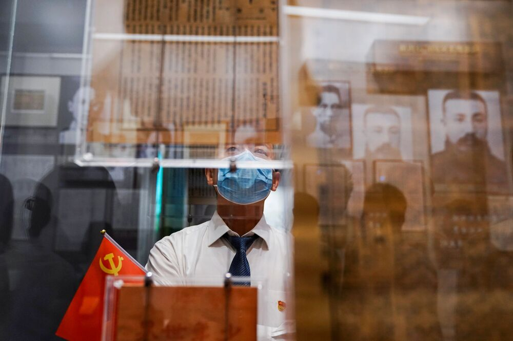 الذكرى المئوية لتأسيس الحزب، في شنغهاي، الصين