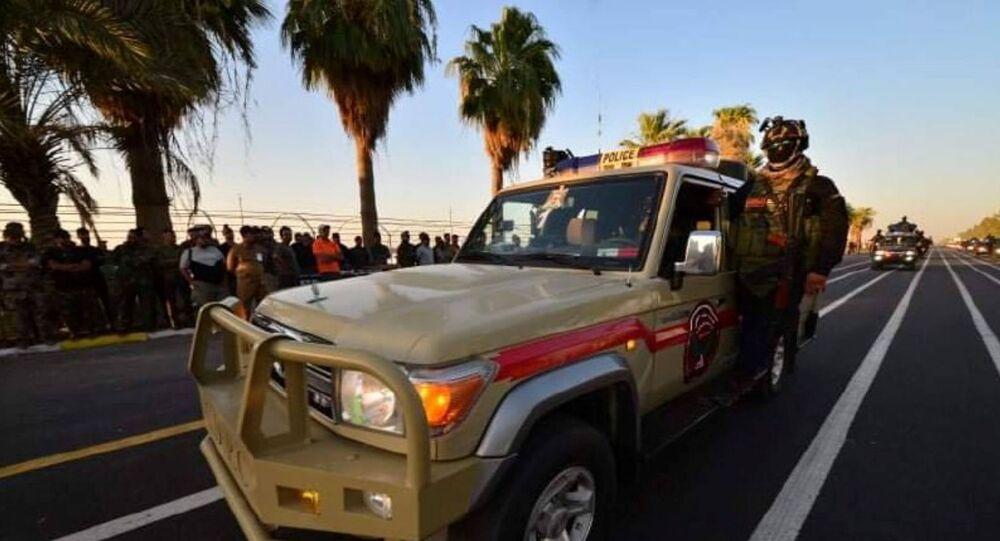 قوات الحشد الشعبي العراقي