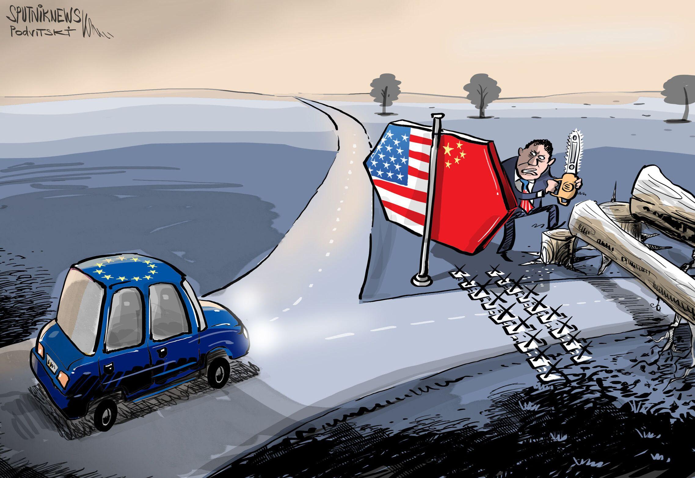 أمريكا: نحن لا نطالب الشركاء الاختيار بيننا وبين الصين