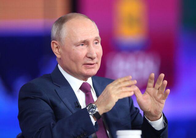 الخط المباشر مع فلاديمير بوتين