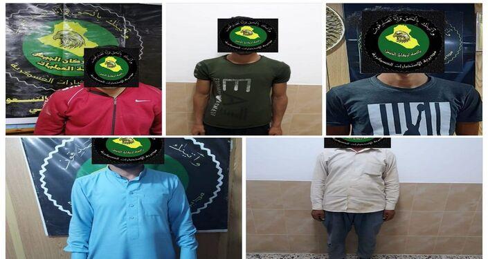 قوات الأمن العراقية تعلن إلقاء القبض على عدد من الإرهابيين