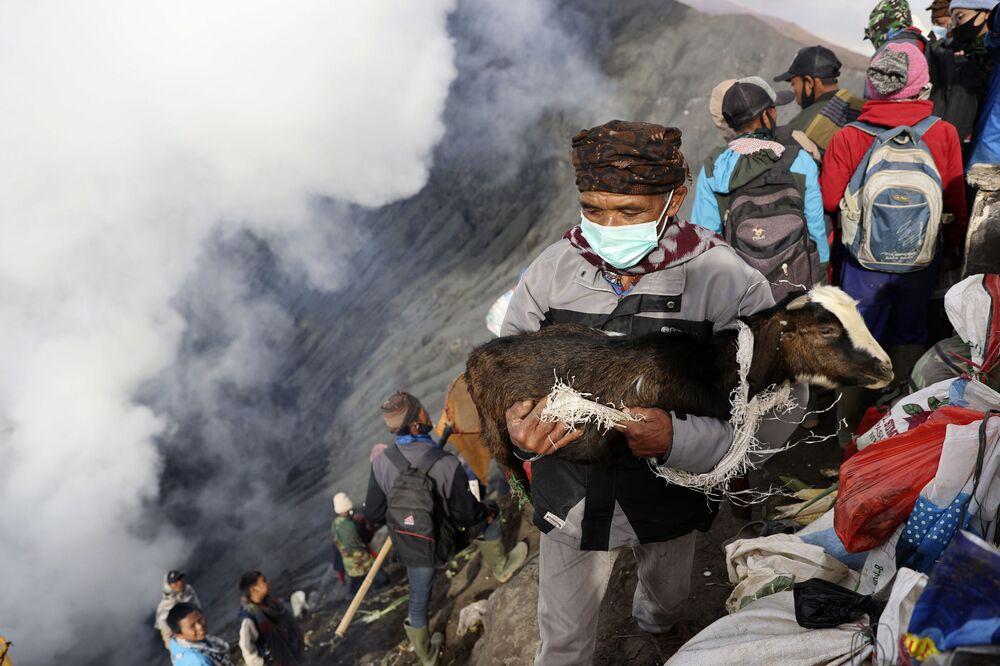 بركان جاوة إندونيسيا