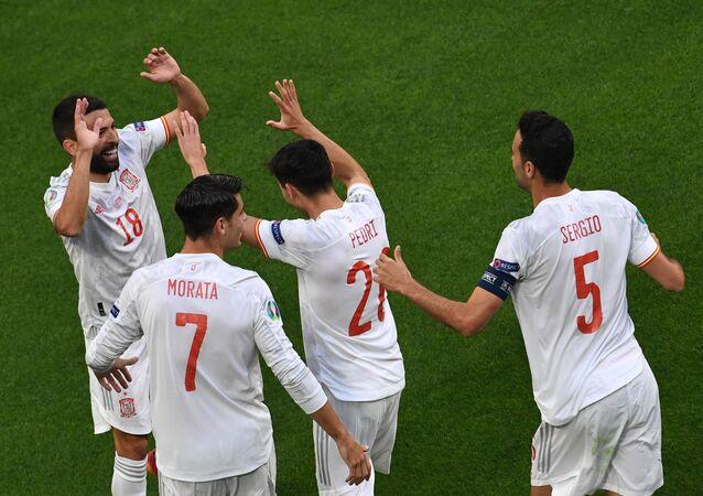 مباراة إسبانيا وسويسرا في يورو 2020