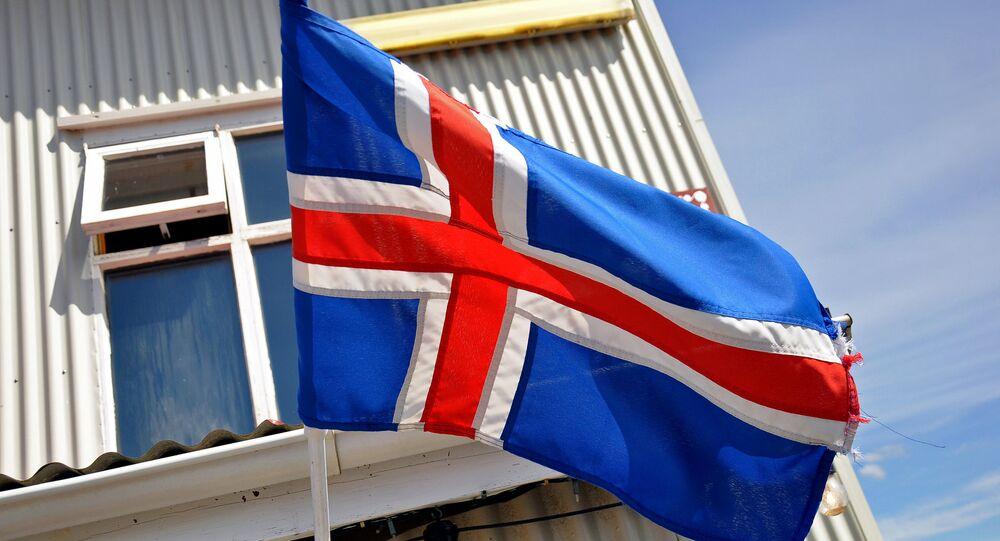 علم آيسلندا