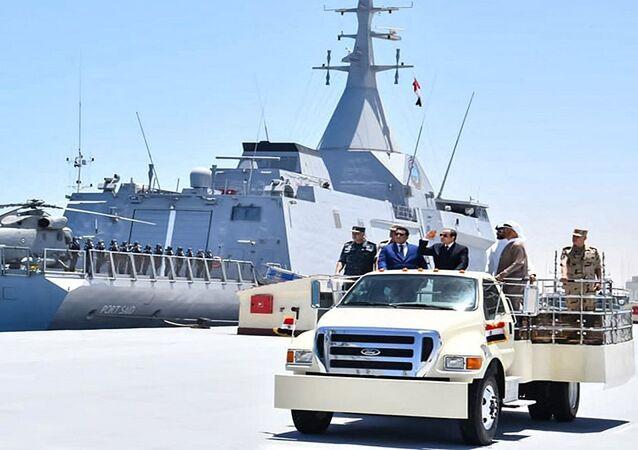 قاعدة 3 يوليو البحرية التابعة للأسطول الحربي المصري
