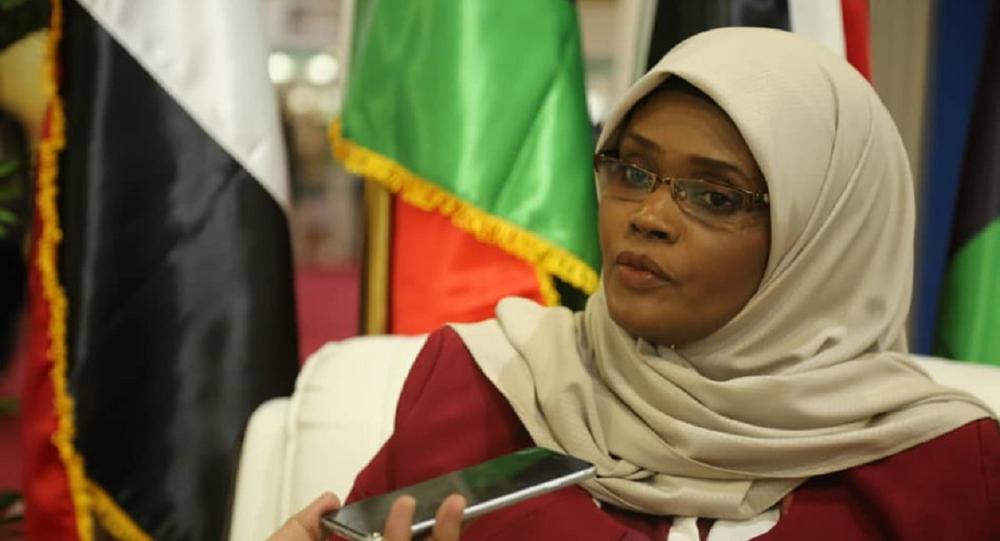 وزيرة الثقافة الليبية مبروكة توغي عثمان