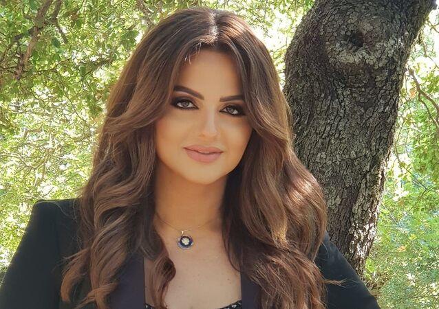 المغنية اللبنانية باسكال مشعلاني