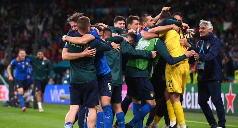 إيطاليا تتأهل لنهائي يورو 2020