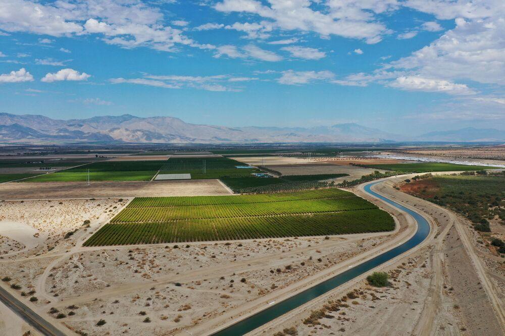 الجفاف في كاليفورنيا