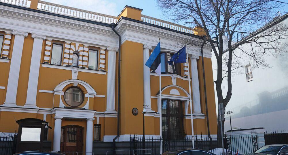 مبنى السفارة الإستونية في روسيا