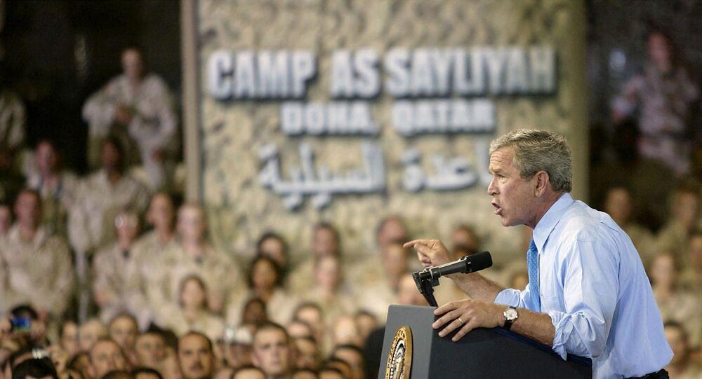 جورج دبليو بوش في حرب العراق