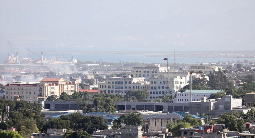 المقر الرئاسي في بورت أو برنس، هايتي