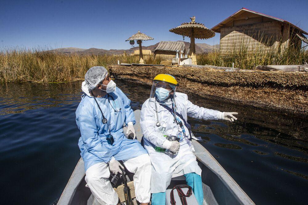 يتم نقل موظفي القطاع الصحي إلى جزر أوروس