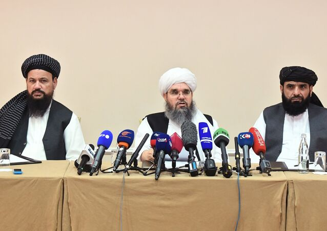 مؤتمر صحفي لـطالبان في موسكو