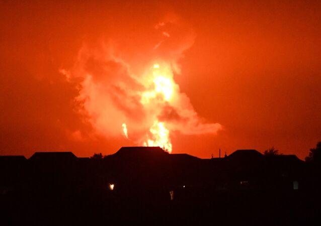 حرائق في منطقة يليابينسك