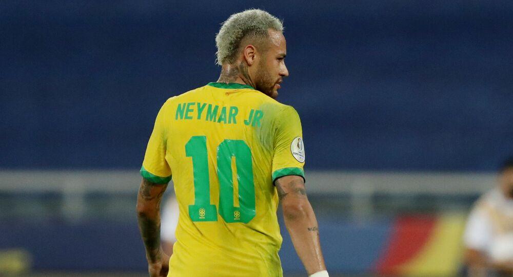 نيمار جونيور - البرازيل - المنتخب البرازيل - كوبا أمريكا 2021