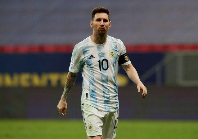 ليونيل ميسي - الأرجنتين - المنتخب الأرجنتيني - كوبا أمريكا 2021