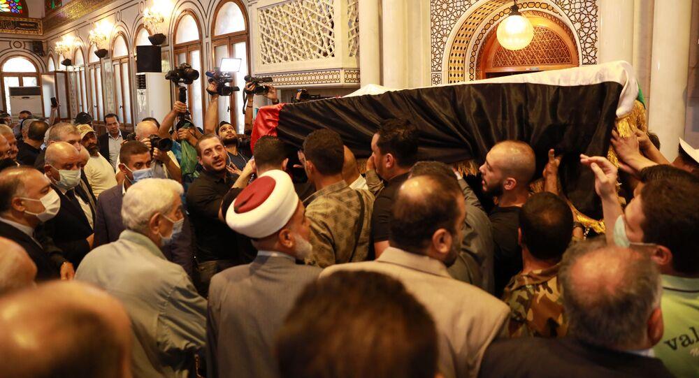 أمين عام الجبهة الشعبية لتحرير فلسطين أحمد جبريل