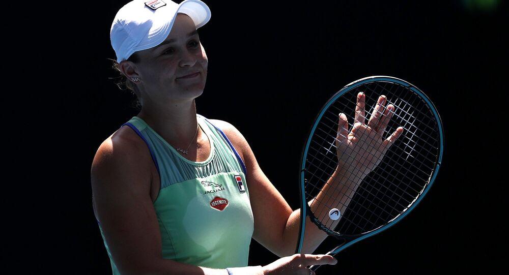 لاعبة تنس الأسترالية آشلي بارتي