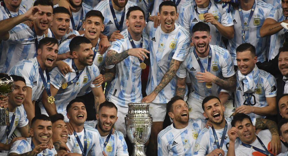 تتويج الأرجنتين ببطولة كوبا أمريكا