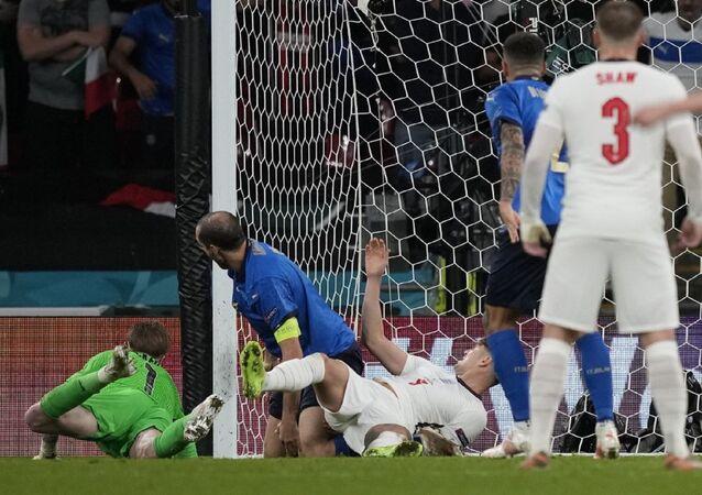 مباراة نهائي يورو 2020 بين إنجلترا وإيطاليا