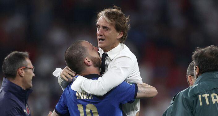 مدرب المنتخب الإيطالي روبيرتز مانتشيني