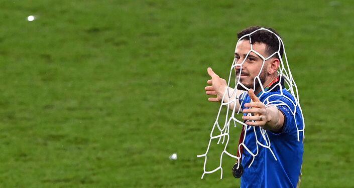 أليساندرو فلورينزي بعد فوز المنتخب الإيطالي