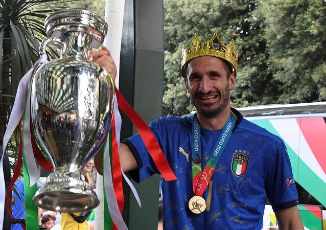 كابتن المنتخب الإيطالي جورجيو كيلليني