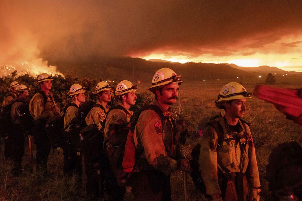 حرائق في كاليفورنيا