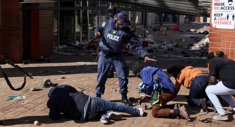 جوهانسبرغ، جنوب أفريقيا