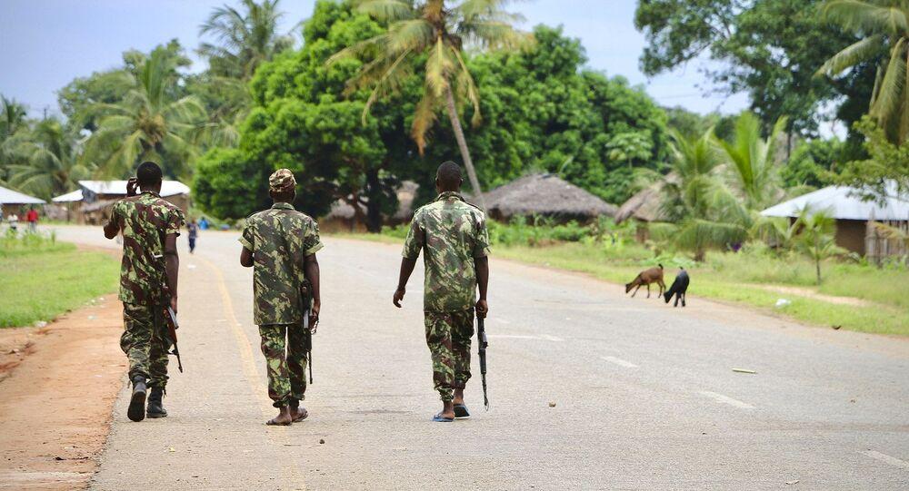 عناصر من جيش موزمبيق